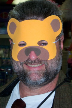 small bear mask
