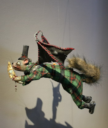 "Elizabeth McGrath ""The Squirrel with the Golden Hatchet"""