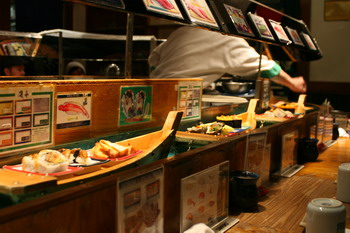Sushi Boats in San Francisco